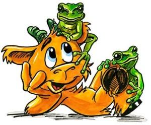 Steini Wetter Frosch 1