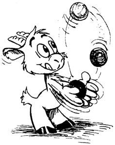steini jonglieren